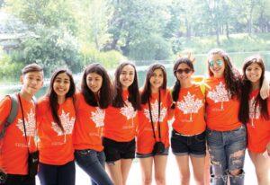 Каникулы в Канаде, летние лагеря