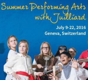 Летняя программа исполнительных искусств со школой Джуллиард